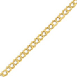 14K Gold 6.8mm Double Link Chain