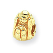 14K Gold Reflections Baby in Hands Bead
