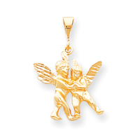 Jewelry - 10k Angel Charm.