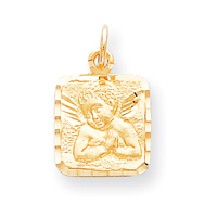Jewelry - 10k ANGEL MEDAL CHARM.