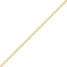 Jewelry - 14K Gold 1.10mm Baby Rope Chain.