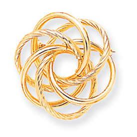 Jewelry - 14K Gold Designer Pin.