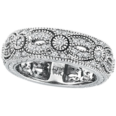 jewelry 14k white gold 87ct designed eternity