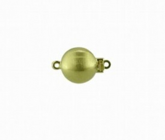 Jewelry - 14KY 10MM BRUSHED BALL CLASP.