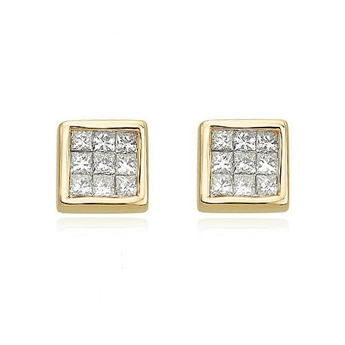 Jewelry - Diamond Earrings.