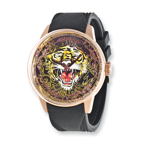 Jewelry - Ed Hardy Tiger Autometer Watch.