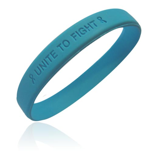 "Jewelry - Official Prostate Cancer Awareness ""Unite to Fight"" Wristband."