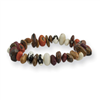 Assorted Bean Stretch Bracelet