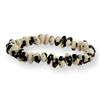 Black Cow Bean Stretch Bracelet