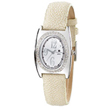 Ladies' Charles Hubert Creme Stingray Band Diamond Watch