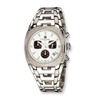 Mens Charles Hubert Stainless Steel Diamond Chronograph Watch